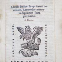 Valerii Maximi dictorum factorum q. memorabilium exempla : adiecto indice propriorum nominum, rerumque memoria dignarum locupletissimo