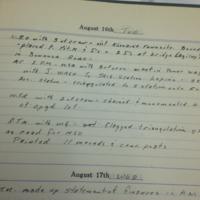 Klondike Townsite McPherson's Field Notes