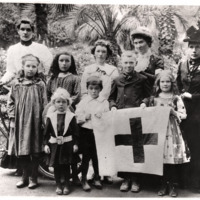 The Junior Subsidiary Branch of the Cuban Red Cross in 1898 during the Spanish American War