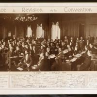 Hôtel de ville. Conférence de révision de la Convention de Genève.