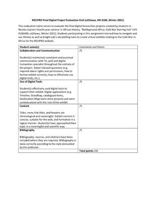 RECIPRO Final Digital Project Evaluation Grid-uOttawa, HIS 4186, Winter 2021.pdf
