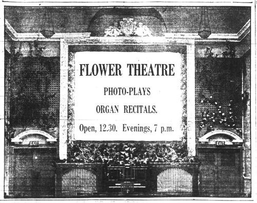 Flower Theatre [advertisement]