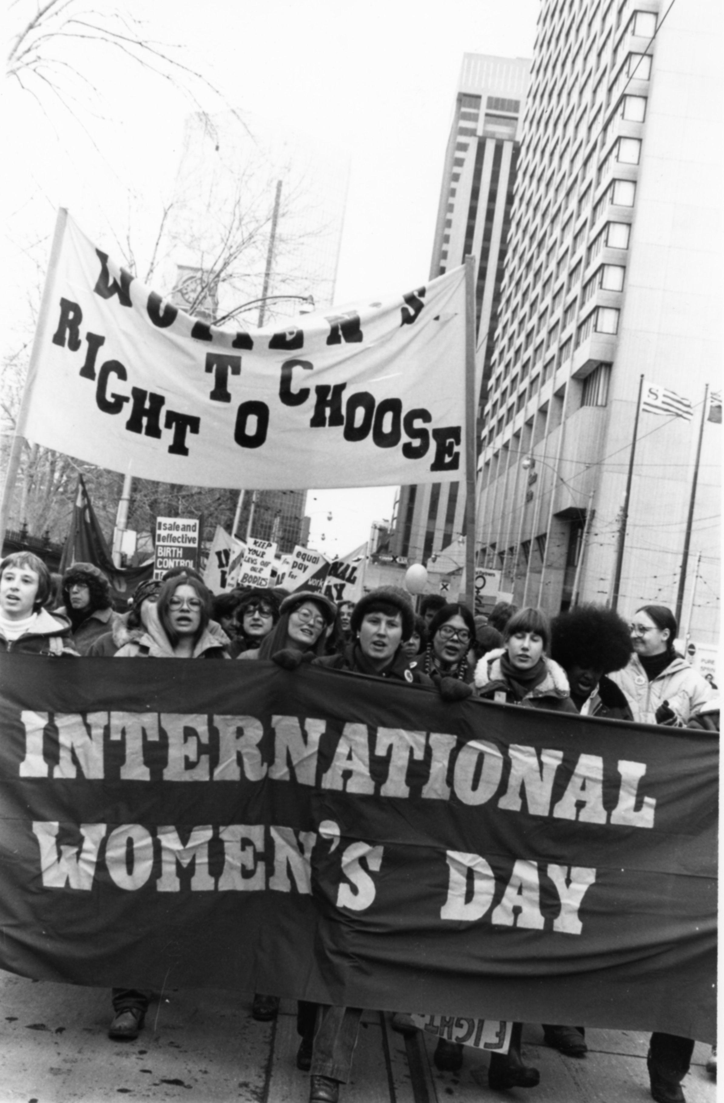 International Women's Day Demonsration
