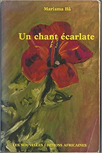 Couverture du livre Un Chant écarlate