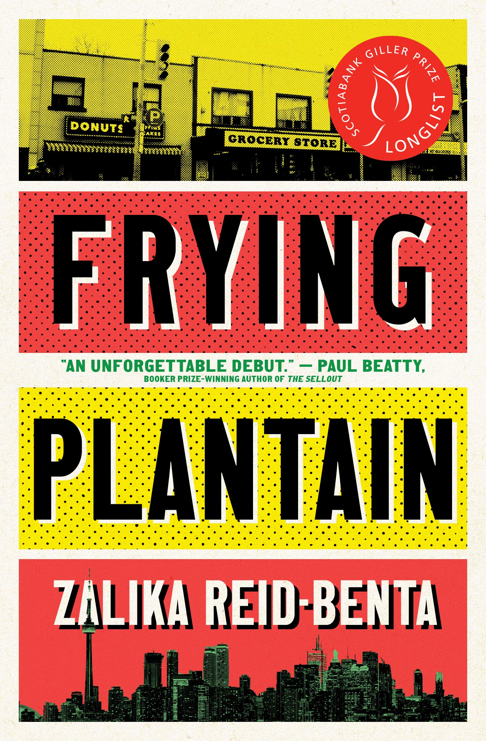 Book cover for Frying Plantain - Zalika Reid-Benta