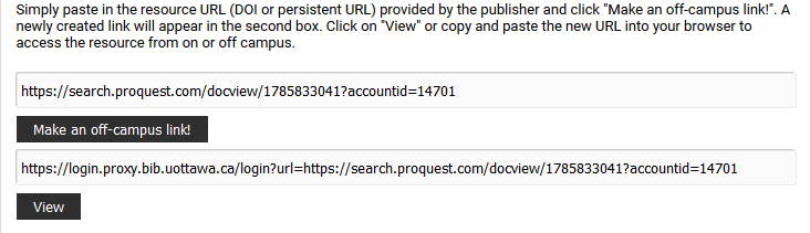 Proxy prefix added to article link