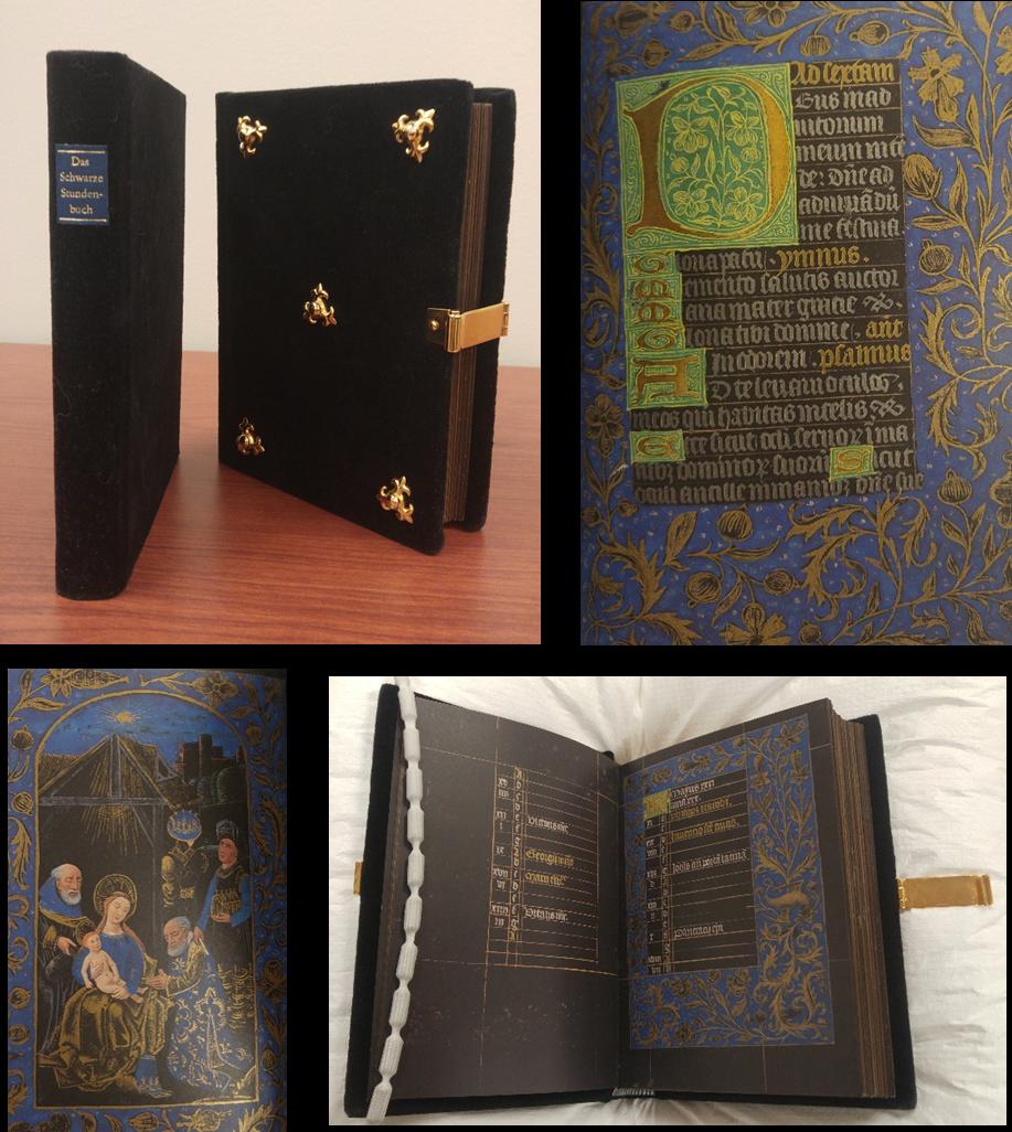 Das Schwarze Stundenbuch - Facsimilé du manuscrit de la Pierpont Morgan Library (MS 493)