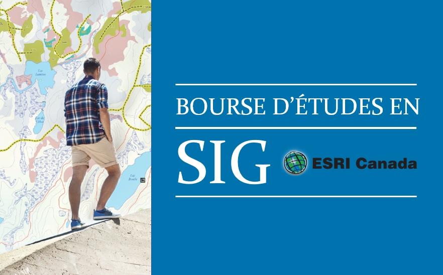 Bourses d'études en SIG