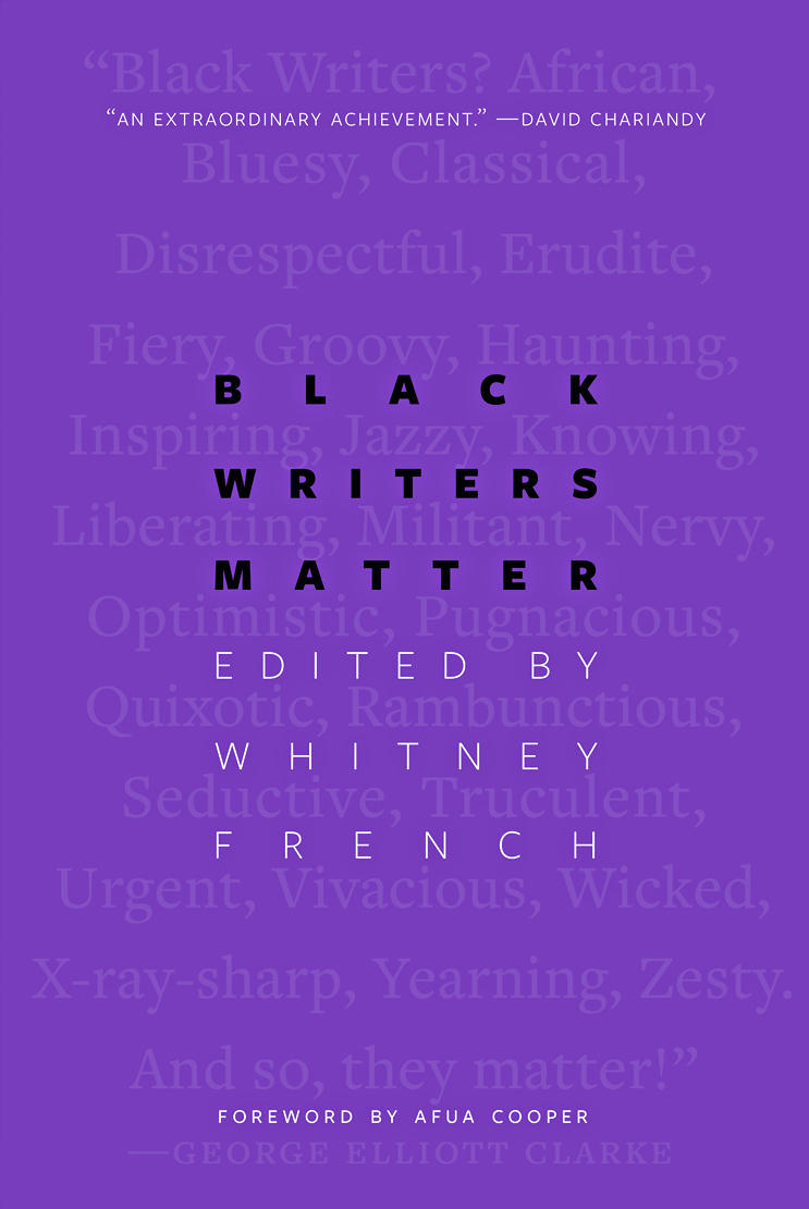 Book cover for Black writers matter - Whitney French