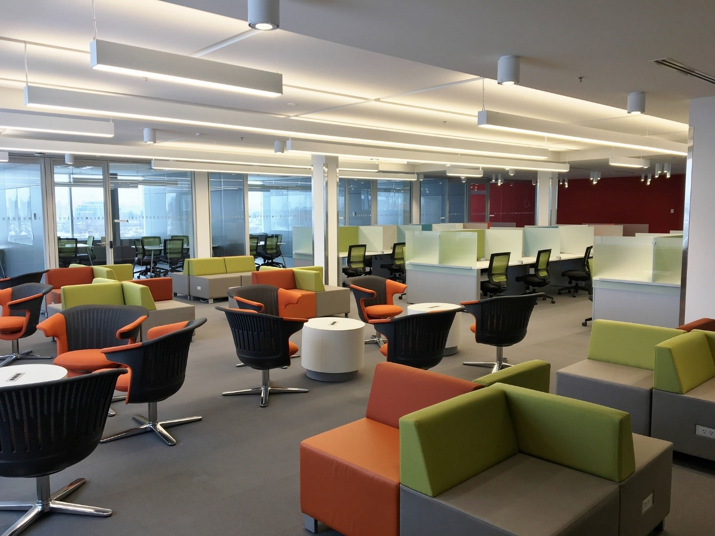 5e étage du Carrefour des apprentissages (CRX)