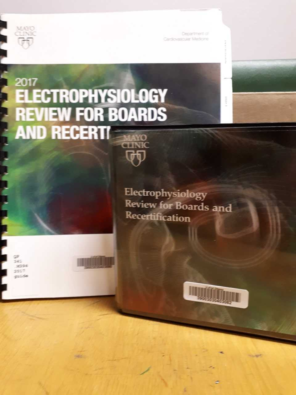 Mayo clinic electrophysiology review for boards and recertification
