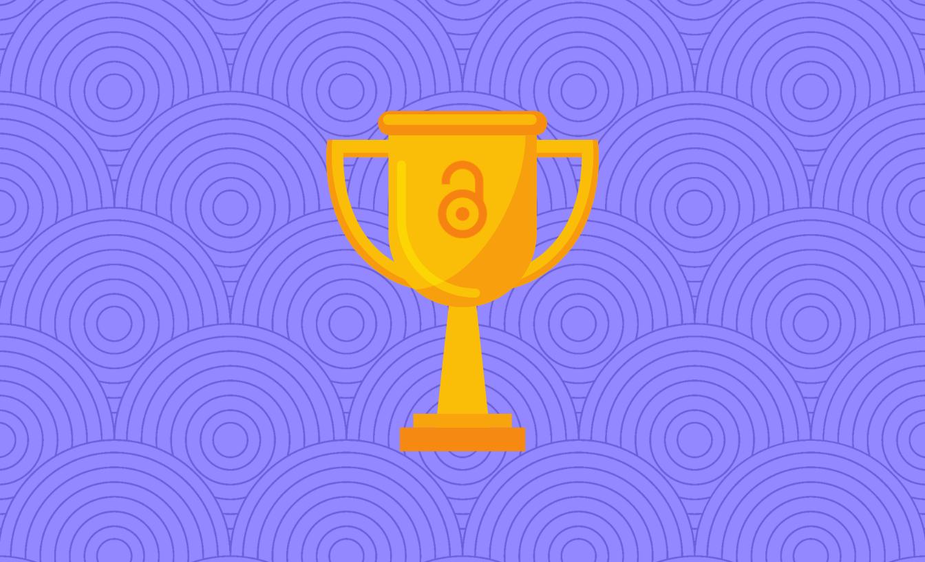 Symbol of award. symbole d'un prix.