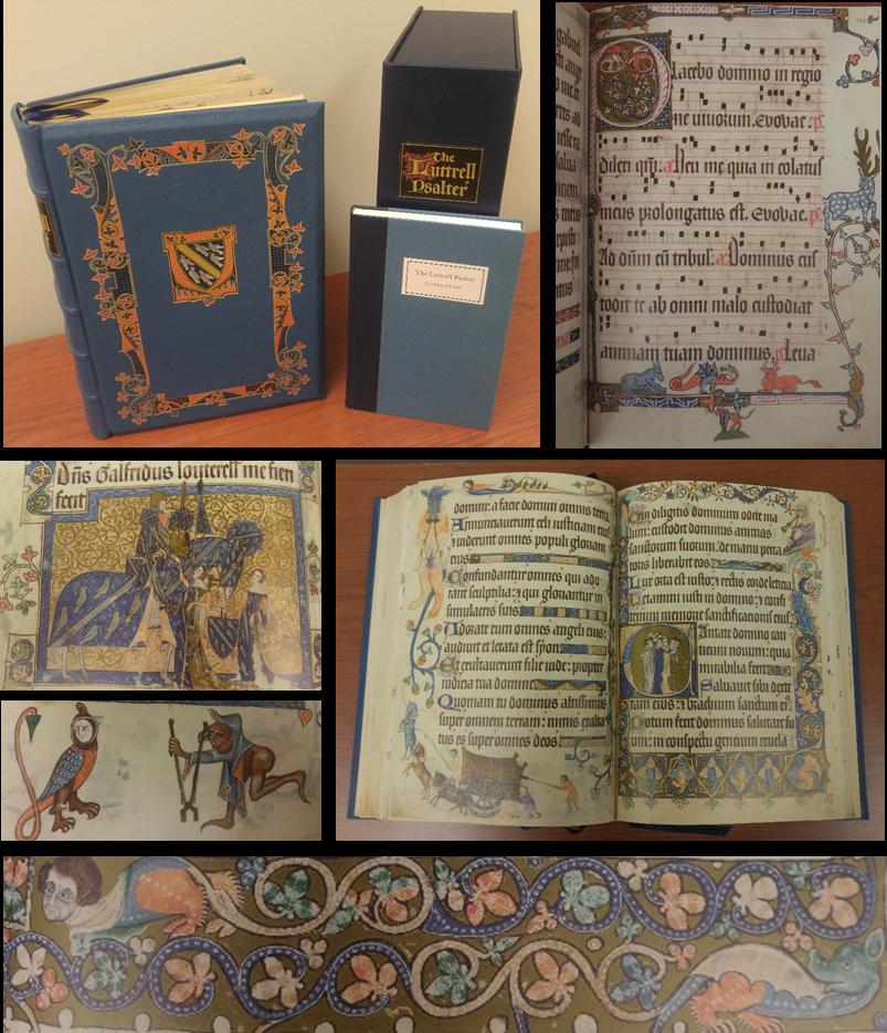 Luttrel Psalter - Facsimile - British Library - Manuscript Ms. 42430