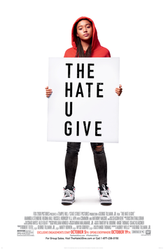Film cover for The Hate u Give