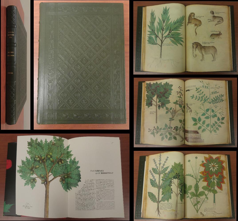 Tractatus de herbis - Facsimile of the manuscript Sloane 4016, British Library, London