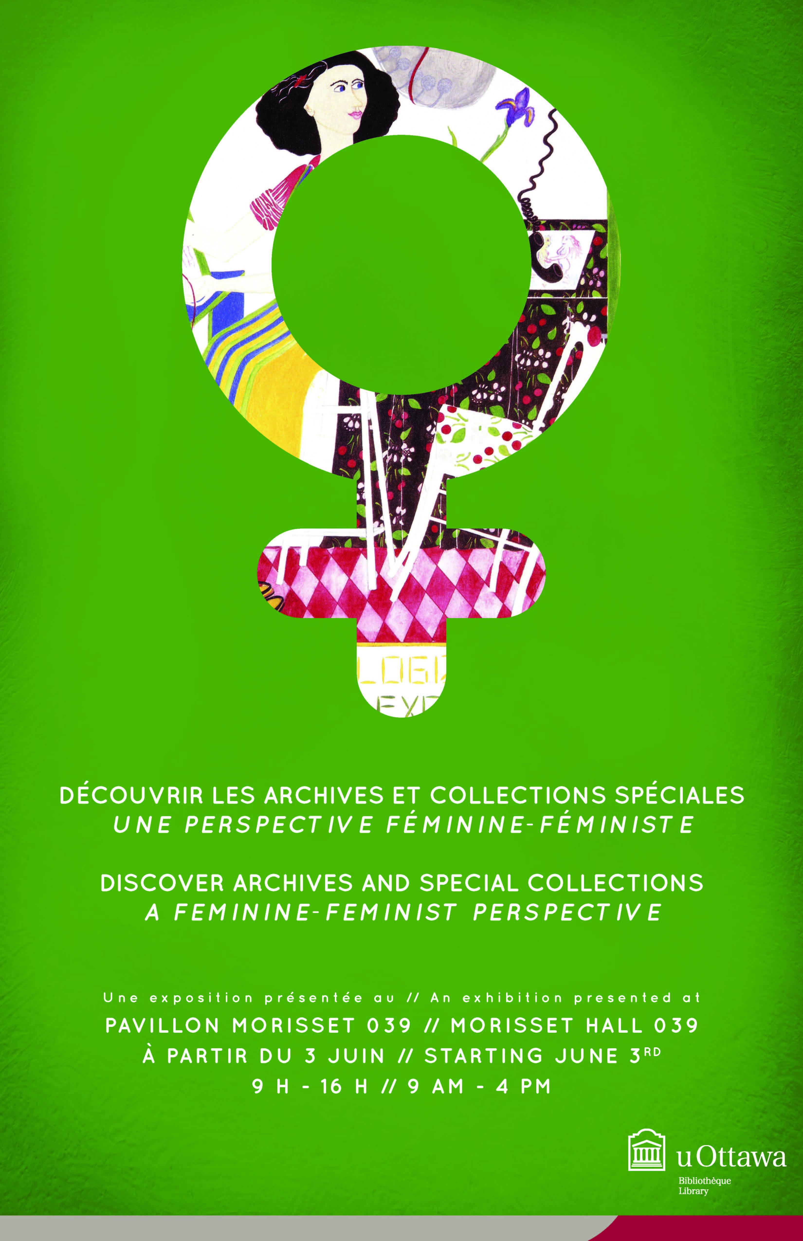 Affiche Exposition Perspective féminine/féministe